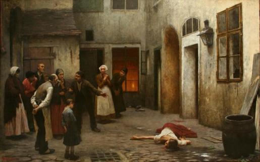 Jakub Scikaneder - homicidio en casa (1889)