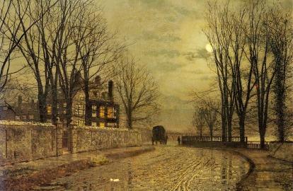 John Atkinson Grimshaw - La vuelta del camino