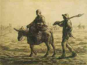 Milet - camino a casa (1858)
