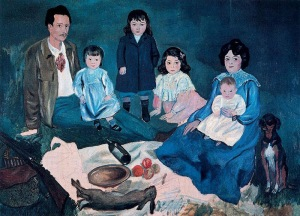 Picasso - soler family (1903)