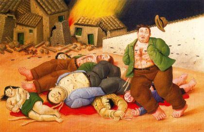 Botero - masacre en Colombia (2000)
