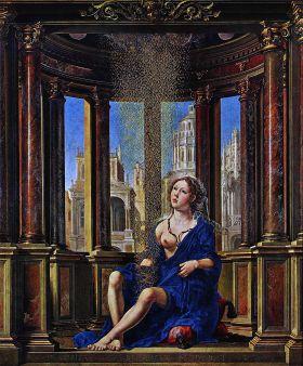 Jan Gossaert  - Danae (1527)