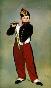Manet - el pífano (1866)
