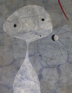 Miro - hombre con pipa (1925)