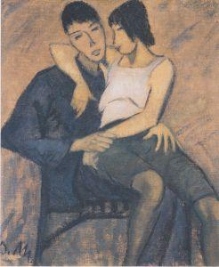 Otto Mueller - Liebespaar (1914)