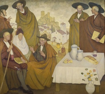 Valentin Zubiaurre - Hombres de Castilla (1920)