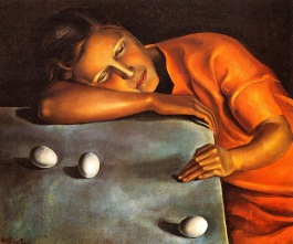 Angeles Santos - Niña durmiendo [Pensativa] (1929)