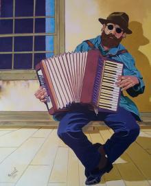 García Pascual - el músico ciego
