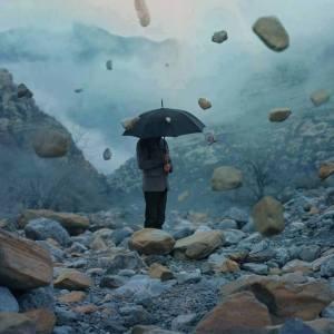 lluvia de piedras
