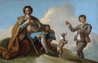 Ramón Bayeu y Subías - El ciego músico (1786)