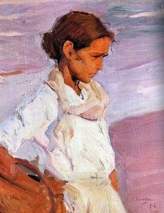 Sorolla - pescadora valenciana (1916)
