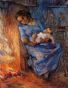 Van Gogh - el marido está en el mar (1189)