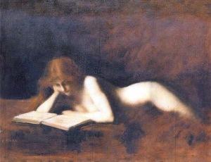 Jean-Jacques Henner - La liseuse
