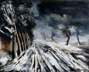 Maurice Vlaminck - Snowstorm