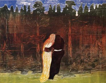 Munch - Towards the Forest II (1915)
