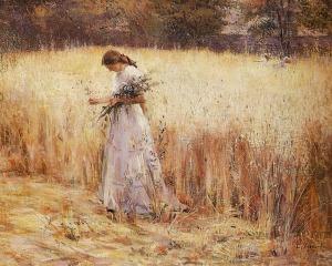 Eliseu Visconti - Muchacha en un trigal