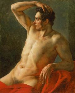 Gericault - Torso of a Man