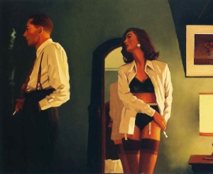 Jack Vettriano - How Do You Stop