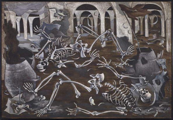 Maruja Mallo - antro de fósiles (1930)