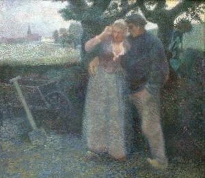 Jan Toorop - The seduction (1886)