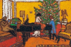 József Rippl-Rónai - Navidad