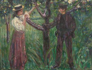 Munch - Adán y Eva (1909)