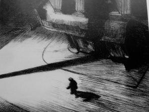 Edward Hopper - sombras nocturnas (1921)