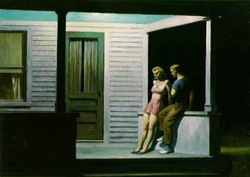 Edward Hopper - Summer evening (1948)