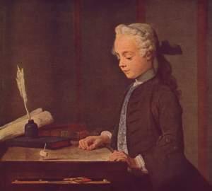 Jean-Baptiste Siméon Chardin - el niño de la peonza (1735)