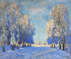 Konstantin Gorbatov - A winter's day (1924)