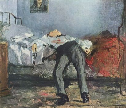 Manet - the Suicide (1880)