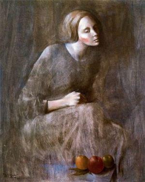 Montserrat Gudiol - Figura femenina