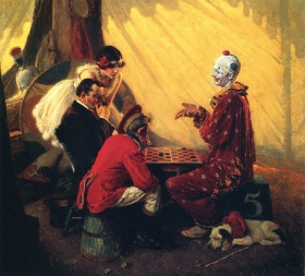 Norman Rockwell - Checkers