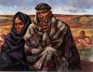 Vela Zanetti - pareja de campesinos (1978)