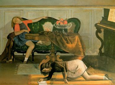 Balthus - Drawing Room (1943)