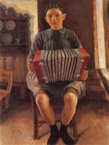 Dora Carrington - Spanish Boy, the Accordion Player (1924)