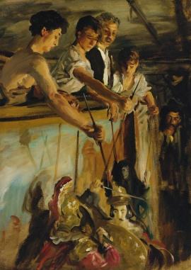 John Singer Sargent - Marionettes(1903)