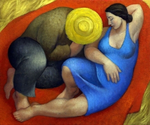 Margarita Sikorskaia - Sleeping Couple