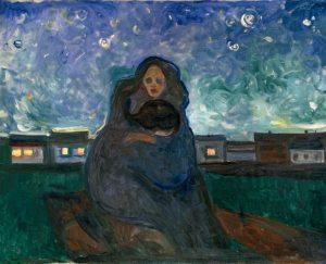 Munch - bajo las estrellas (1905)