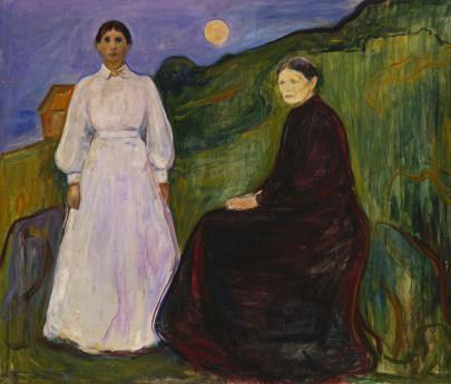 Munch - madre e hjija (1897)