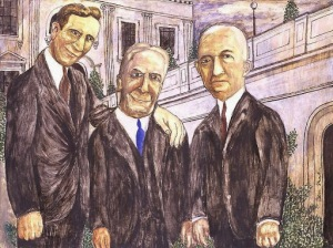 Ben Shahn - Three Senators