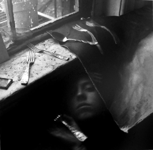 Francesca Woodman. - its must for lunch now (1979)