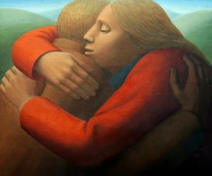 George Tooker - Embrace