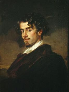 Valeriano Dominguez Becquer - Gustavo Adolfo Becquer (1862)