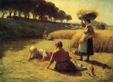 John Ottis Adams - Gleaners at Rest