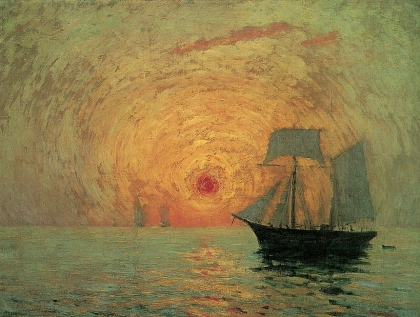 Maxime Maufra - Red Sun