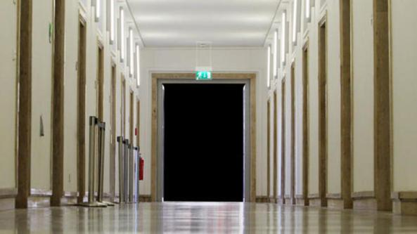 pasillo de la escuela