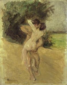 Liebermann - Love scene, (1926)