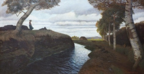 Otto Modersohn - Moorlandschaft (1903)