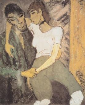 Otto Mueller - Los amantes gitanos